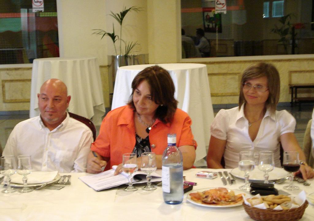 Reunión anual de los directivos de la Fundación AMFI celebrada el 29 de junio de 2009