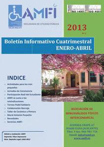 Boletín informativo cuatrimestral Enero-Abril 2013