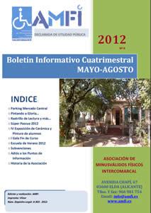 Boletín Informativo Cuatrimestral Mayo-Agosto 2012