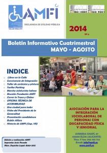 Boletín informativo cuatrimestral Mayo-Agosto 2014