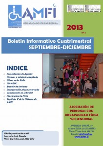 Boletín cuatrimentral septiembre diciembre 2013