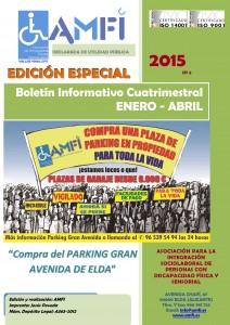 Edición especial del Boletín con motivo de la compra del Parking Gran Avenida de Elda