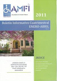 Boletín Informativo Cuatrimestral Enero-Abril 2011 Nº 0