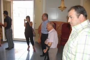 Reunión anual de la Fundación AMFI, interior de los Salones Princesa
