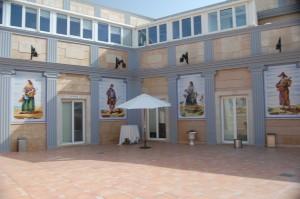 Reunión anual de la Fundación AMFI, terraza de los salones Princesa