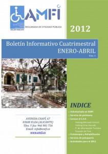Boletín informativo cuatrimestral enero-abril 2012