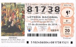 Nuestro nº de lotería para este año, todavía puedes adquirirlo en nuestra sede Avda de Chapí 67 y en Parking Gran Avenida, Parking Mercado Central y Estación Ferrocarril Elda-Petrer...Y si toca??