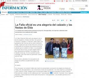 diarioinformacion.com 24 de abril de 2015 La Comisión de la Falla El Huerto presenta su proyecto «Discapacítate» en el que han colaborado siete asociaciones socio-sanitarias de la ciudad
