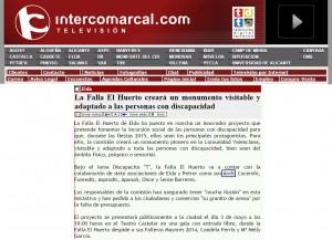 intercomarcal.com 24 de abril de 2015 La Falla El Huerto creará un monumento visitable y adaptado a las personas con discapacidad