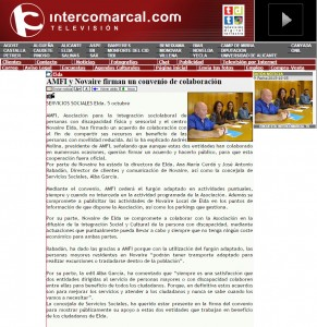 intercomarcal.com 5 de octubre de 2015 AMFI y Novaire firman un convenio de colaboración