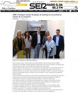 radioelda.com 13 de octubre de 2015 AMFI consigue vender 54 plazas de parking en los primeros meses de su proyecto