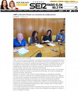 radioelda.com 5 de octubre de 2015 AMFI y Novaire firman un convenio de colaboración