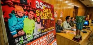 diarioinformacion.com 11 de diciembre de 2015 El Ayuntamiento presenta el cartel de la XXXV San Silvestre