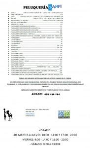 Precios y ofertas en Peluquería AMFI