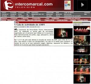 intercomarcal.com 11 de julio de 2016 V Gala de Actividades de AMFI