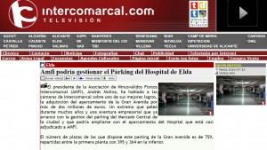 intercomarcal.com 15 de julio de 2016 Amfi podría gestionar el Párking del Hospital de Elda