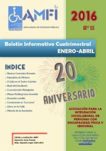 Boletín Informativo Cuatrimestral Enero-Abril 2016
