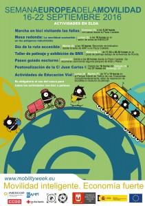 Semana Europea de la Movilidad, del 16 al 22 de septiembre 2016