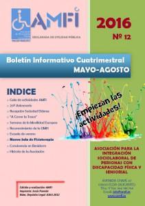 Boletín Informativo Cuatrimestral. Mayo-Agosto 2016