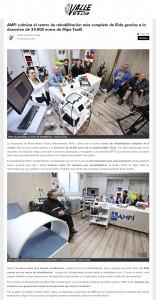 AMFI culmina el centro de rehabilitación más completo de Elda gracias a la donación de 24.000 euros de Mipe Textil