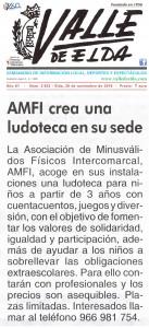 AMFI crea una ludoteca en su sede