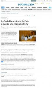 La Sede Universitaria de Elda organiza una 'Mapping Party'