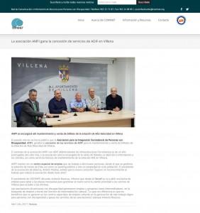 La asociación AMFI gana la concesión de servicios de ADIF en Villena