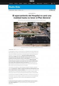 """El aparcamiento del Hospital no será una realidad hasta no tener el Plan General AMFI arremete contra el ayuntamiento afirmando que """"están para cambiar las leyes"""""""