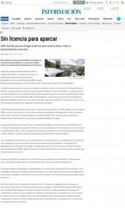 Sin licencia para aparcar AMFI reclama que se le otorgue el permiso para iniciar la obras y crear un estacionamiento al aire libre