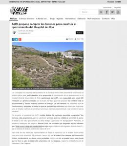 AMFI propone comprar los terrenos para construir el aparcamiento del Hospital de Elda