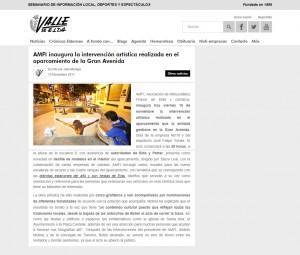 AMFI inaugura la intervención artística realizada en el aparcamiento de la Gran Avenida