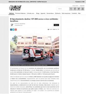 El Ayuntamiento destina 157.000 euros a cinco entidades benéficas