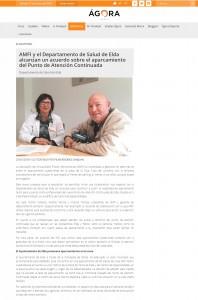 AMFI y el Departamento de Salud de Elda alcanzan un acuerdo sobre el aparcamiento del Punto de Atención Continuada