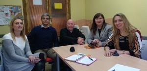 VISITA DE LA UNIDAD DE TRANSFERENCIA DE CONOCIMIENTO DE LA UA - Universitat d'Alacant / Universidad de Alicante A Amfi Integración DE ELDA PARA ESTUDIAR POSIBLES PROYECTOS DE INVESTIGACIÓN APLICADA PARA ESTE COLECTIVO