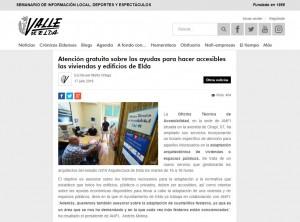 Atención gratuita sobre las ayudas para hacer accesibles las viviendas y edificios de Elda