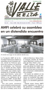 AMFI celebró su asamblea en un distendido ambiente