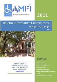 Boletín informativo cuatrimestral mayo-agosto 2011