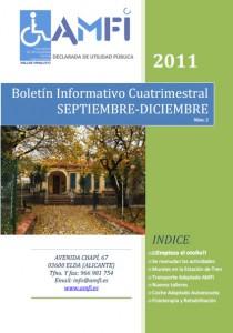 Boletín informativo cuatrimestral septiembre-diciembre 2011