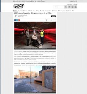 AMFI asume la gestión del aparcamiento de la FICIA